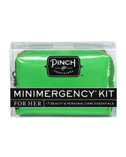 Pinch Provisions Candy Striper Minimergency Kit For Her, Black