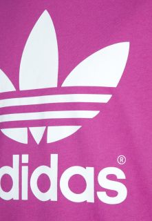 adidas Originals TREFOIL   Print T shirt   purple
