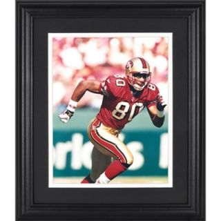 Jerry Rice San Francisco 49ers Framed Unsigned 8 x 10 Photograph   FansEdge