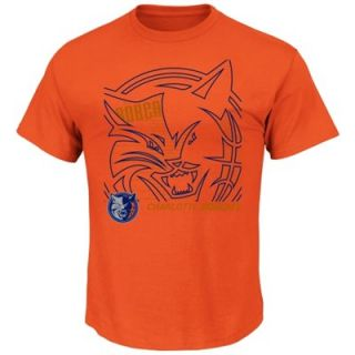 Charlotte Bobcats Hookup T Shirt   Orange