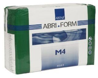 Abena Abri Form M4 Fitted Brief, Medium, 14 Count: Health & Personal Care