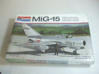 MiG 15 Jet Fighter 1/48 Scale Kit by Monogram (contains 3 different versions) Toys & Games