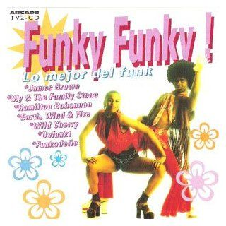 Funk Hits (CD Compilation, 24 Tracks, Various Artists) kc and the sunshine band i get lifted, sly & the family stone dance to the music, wild cherry play that funky, commodores brick house, archie bell tighten up, stretch why did you do it, defunkt in