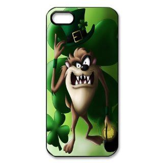 Mystic Zone Taz iPhone 5 Case for iPhone 5 Cover Cartoon Fits Case WSQ0814: Cell Phones & Accessories