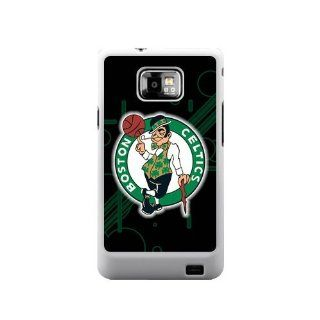 NBA Boston Celtics Samsung Galaxy S2 Case Celtics Logo Samsung Galaxy S2 I9100 Cases Cover(DOESN'T FIT T MOBILE AND SPRINT VERSIONS!): Cell Phones & Accessories