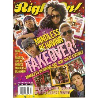 Right On! Mindless Behavior Takeover   Special Issue Magazine (March/April 2012)   Contains 12 Posters (Front & Back)   MB   Newsstand Edition (No Address Label)   Word Up!: Right On! Magazine: Books