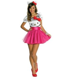 Hello Kitty   Hello Kitty Tutu Dress Teen Costume Clothing