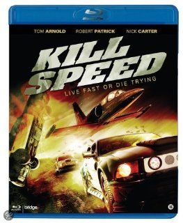 Kill Speed [Blu ray]: Andrew Keegan, Brandon Quinn, Natalia Cigliuti, Nick Carter, Reno Wilson, Greg Grunberg, Christian Monzon, Graham Norris, Joshua Alba, Tom Arnold, Kim Bass, CategoryCultFilms, CategoryUSA, Kill Speed (2010) ( Fast Glass ), Kill Speed