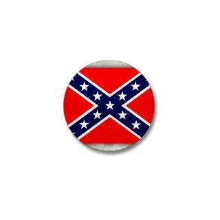 Mini Button Rebel Confederate Flag HD: Everything Else