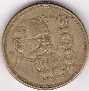 1985 Mexico 100 Peso Coin