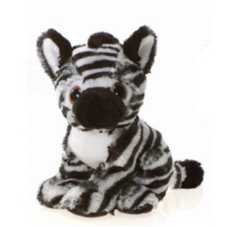 "Big Eye Sitting Zebra 9"" by Fiesta Toys & Games"