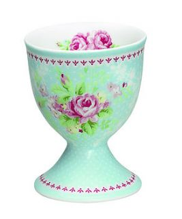 porcelain amy egg cup by the country cottage shop