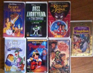 Disney Animated Classics 7 Pack   Beauty & the Beast, The Jungle Book, The Return of Jafar, Muppet Treasure Island, Pinocchio, Winnie the Pooh's Seasons of Giving,and Buzz Lightyear of Star Command: Walt disney: Movies & TV