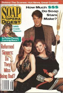 Matthew Ashford, Jacklyn Zeman, Tracey E. Bregman, Patsy Pease, Elaine Princi, Susan Seaforth Hayes   September 18, 1990 Soap Opera Digest Magazine : Prints : Everything Else