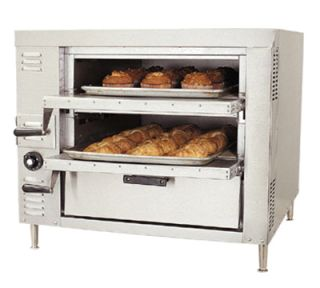 Bakers Pride Double Deck Gas Countertop Pizza Oven, LP