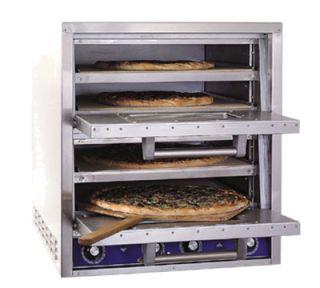 Bakers Pride Quadruple Deck Electric Countertop Pizza/Pretzel Oven, 208v/1