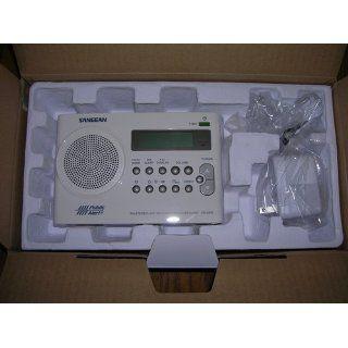 Sangean PR D9W AM/FM Weather Alert Rechargeable Portable Radio Electronics