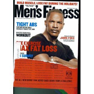 Men's Fitness Magazine. Dec Jan 2009 (Jamie Foxx. How He Gets In Shape for His Award Winning Roles.): Men's Fitness Magazine: Books