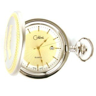 Colibri Hunting Case Giving Thanks Award Pocket Watch Design PWS096022: Watches