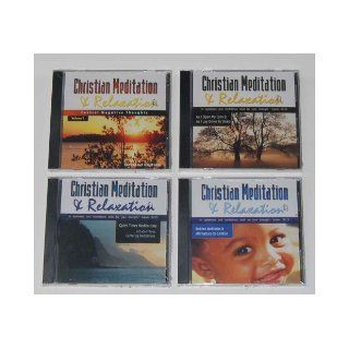 Christian Meditation and Relaxation Four Cd Set (Christian Meditation): Rhonda Jones: Books