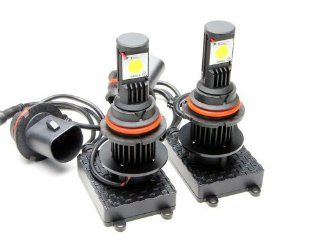 New Brights LED Headlight Conversion Kit   All Bulb Sizes   50W 3600LM Cree LED   Replaces Halogen & HID Bulbs   9004 (HB1) Dual beam LED: Automotive