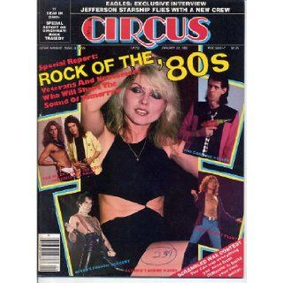 Circus Magazine ROCK OF THE '80s Blondie VAN HALEN Freddy Mercury THE CARS Led Zeppelin EAGLES January 22, 1980 C Gerald Rothberg Books
