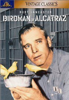Birdman of Alcatraz: Burt Lancaster, Karl Malden, Thelma Ritter, Neville Brand, Betty Field, Telly Savalas, Edmond O'Brien, Hugh Marlowe, Whit Bissell, Crahan Denton, James Westerfield, Robert Bailey, Burnett Guffey, Charles Crichton, John Frankenheime