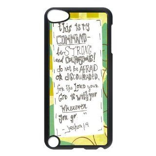 Bible Verse Case for Ipod 5th Generation Petercustomshop IPod Touch 5 PC00455   Players & Accessories