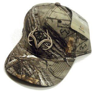 Realtree Outfitters RO232 Antler Logo AP Camo Hunting Hat : Sports & Outdoors