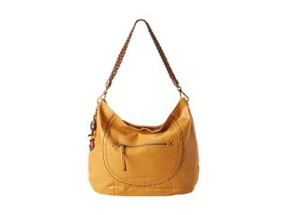The Sak Indio Leather Drawstring Cayenne