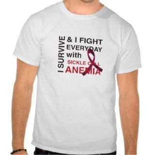 Sickle Cell Anemia Fighter Tshirts