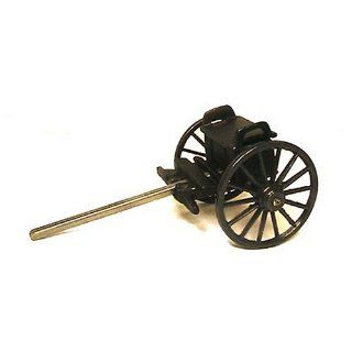 Miniature Civil War Cannon Limber   Collectible Figurines