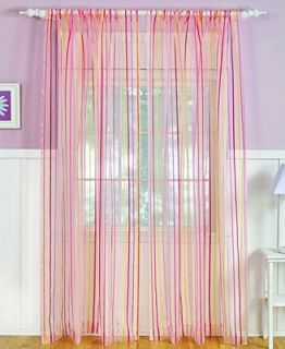 Elrene Candy Stripe 52 x 84 Panel   Sheer Curtains   For The Home