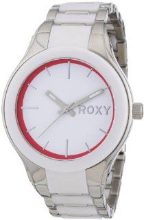 Roxy Ladies Midnight Analogue Watch W221BFAWHT with Stainless Steel Strap and Acetate Case: Watches