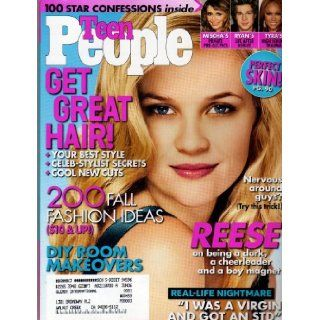 Reese Witherspoon Cover Teen People Magazine October 2005: Editors of Teen People: Books