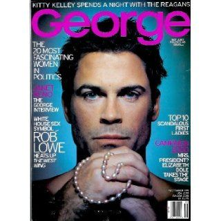 George Magazine   September 1999 Rob Lowe, Janet Reno, the Reagans, & More Jr. John F. Kennedy Books