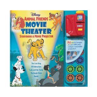 Disney Animal Friends Movie Theater Storybook & Projector: Sarah Heller, Disney Archives Art: 9780794401221: Books