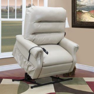 Medlift 3653 36 Series Three Way Reclining Lift Chair with Extra Magazine Pocket Fabric Suede Crypton   Bisque Health & Personal Care