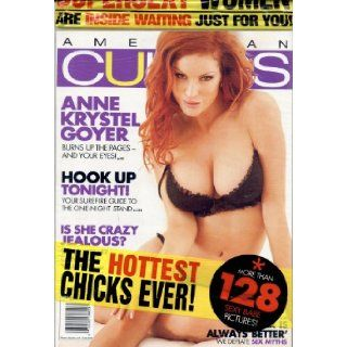 American Curves December 2009 (Anne Krystel Goyer): Various: 0748200882032: Books