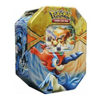 Pokemon TCG Card Game 2013 Spring EX 3 Tin Set: Black Kyurem EX, White Kyurem EX, & Keldeo *PREORDER: Ships March 1st*: Toys & Games