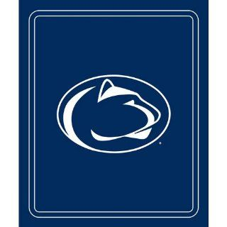 Logo Chair Penn State Nittany Lions NCAA Classic Fleece Blanket LCC 196 23 : Sports Fan Throw Blankets : Sports & Outdoors