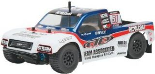 Team Associated 20121 SC18 Brushless 4WD Electric Off Road RTR Toys & Games
