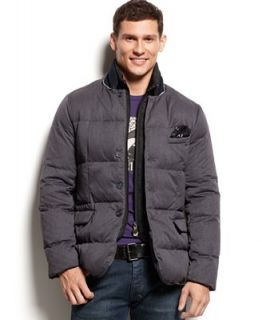 Armani Jeans Elbow Patch Down Puffer Jacket   Coats & Jackets   Men