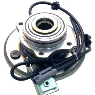 513201 Axle Bearing & Hub Assembly for Chrysler Pacifica, Front Driven Hub with Integral ABS Automotive