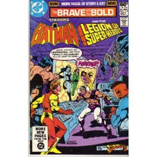 The Brave and the Bold No.179 (Starring Batman and the Legion of Super  Heroes: Martin Pasko, Ernie Colon, Mike DeCarlo, Dick Giordano (cover), Ross Andru (cover): Books