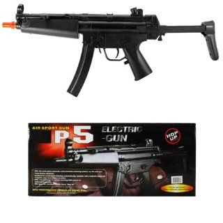 "AIRSOFT ELECTRIC SEMI & FULL AUTOMATIC GUN W/HOP UP FPS175 SIZE 21""  Airsoft Rifles  Sports & Outdoors"