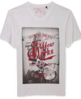 Buffalo David Bitton Skull Graphic T Shirt   T Shirts   Men