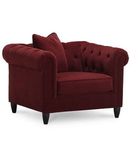 Rayna Fabric Living Room Chair, 43W x 38D x 30H   Furniture