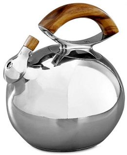 Nambe Gourmet Bulbo Tea Kettle   Serveware   Dining & Entertaining