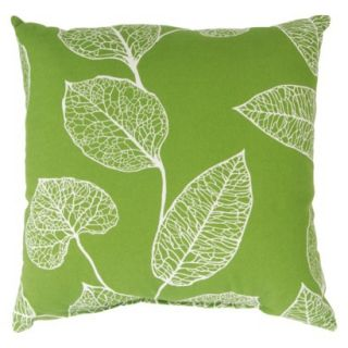 TH 18 Pillow Green Leaf